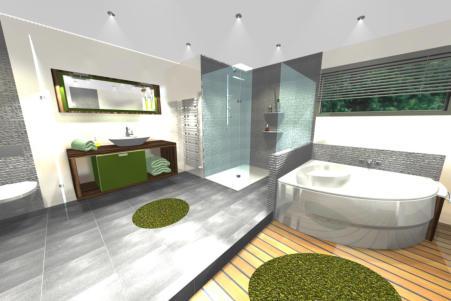 Au fil de l\'eau Renovation Agencement salle de bain Brest 29